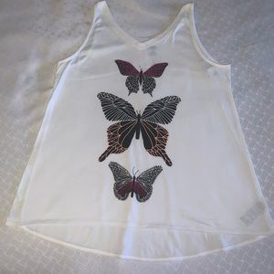 BRAND NEW loose fit white tank top